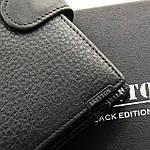 Кошелек мужской кожаный большой BRETTON черный (05-110), фото 3