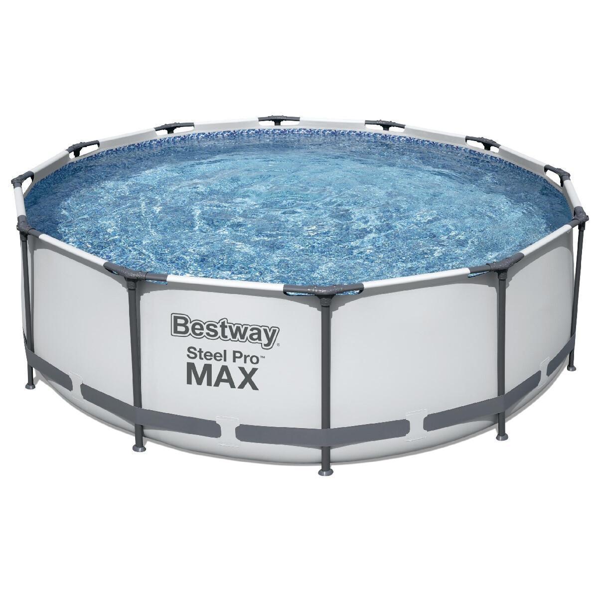 Каркасный бассейн круглый Bestway 56260 (366x100) с картриджным фильтром