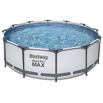 Каркасный бассейн круглый Bestway 56260 (366x100) с картриджным фильтром, фото 2
