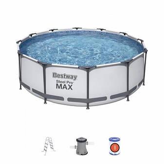 Каркасний басейн 56418, 366х100 см (фільтр-насос, сходи), фото 2