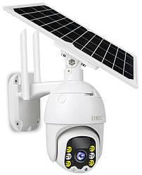 Автономная камера видеонаблюдения с датчиком движения UKC Solar IP Camera Model Q5 | камера спостереження (GK)