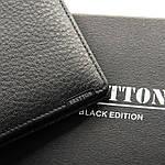 Кошелек мужской кожаный BRETTON черный (05-111), фото 4