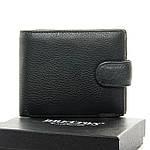Кошелек мужской кожаный с зажимом BRETTON черный (05-112), фото 3