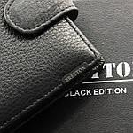 Кошелек мужской кожаный с зажимом BRETTON черный (05-112), фото 4