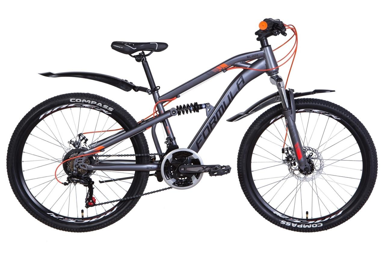 "Велосипед 24"" Formula BLAZE 2021 (червоний)"