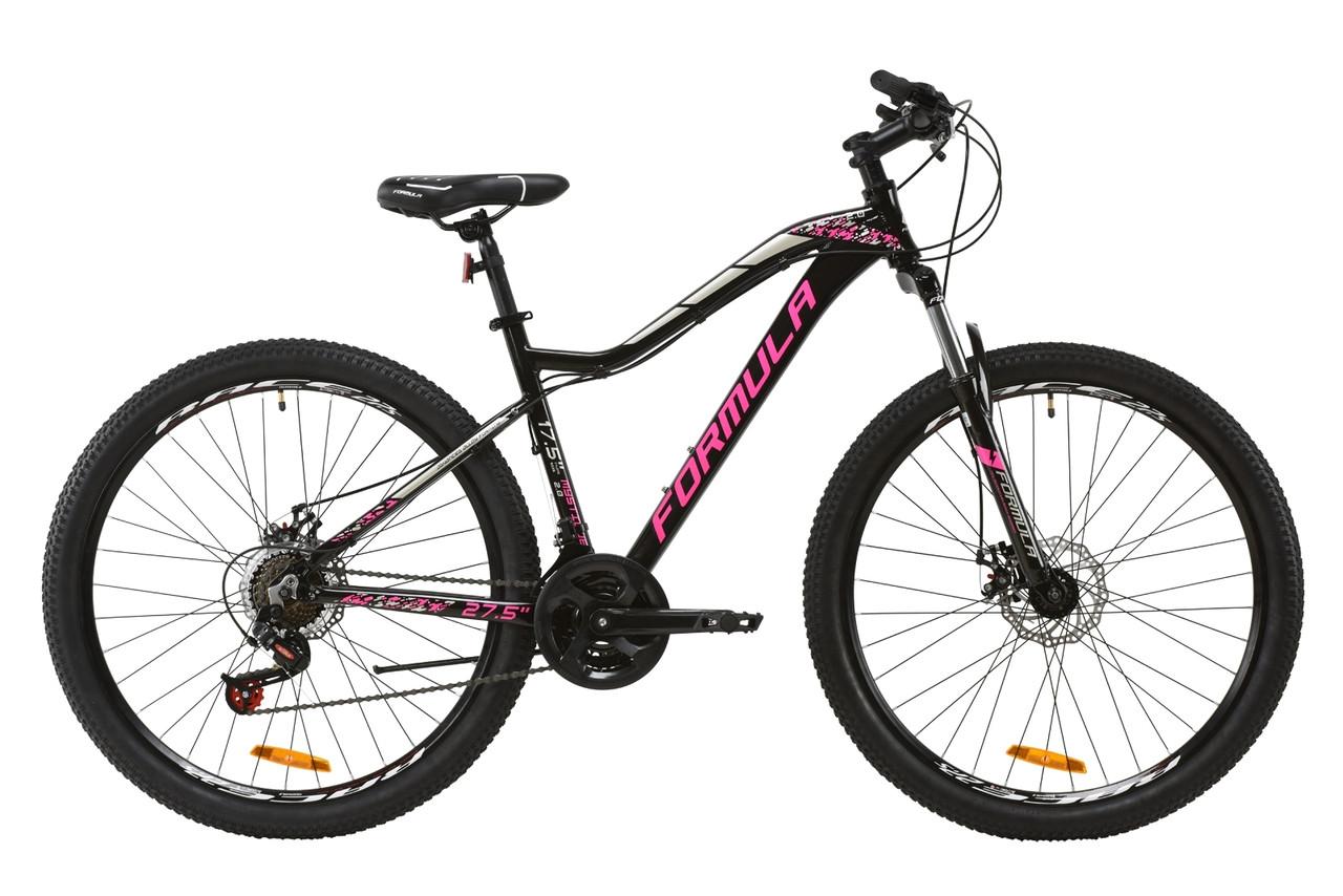 """Велосипед 27.5"""" Formula MYSTIQUE 2.0 2020 (рубіновий із зеленим та білим)"""