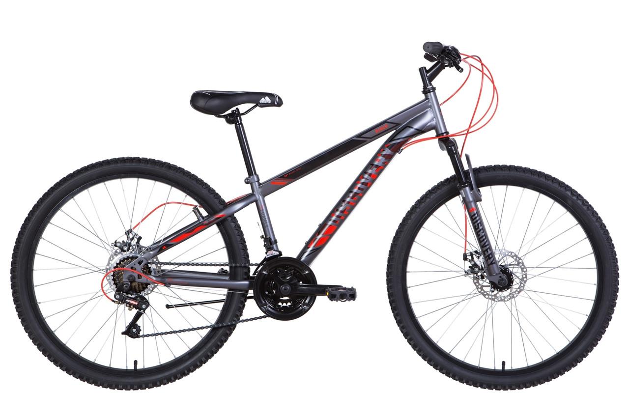 "Велосипед 26"" Discovery RIDER DD 2021 (синий с бирюзовым)"