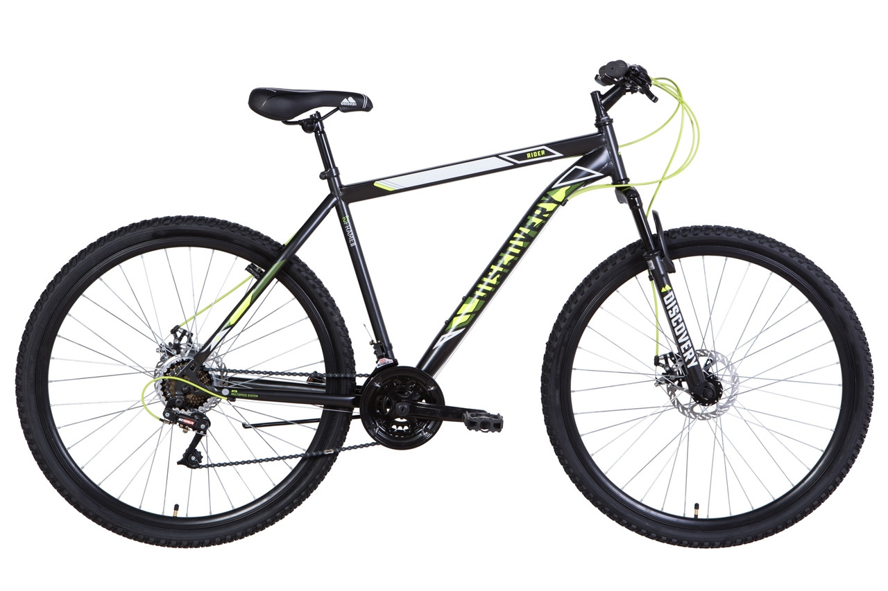"Велосипед 29"" Discovery RIDER DD 2021 (чорно-жовтий (м))"