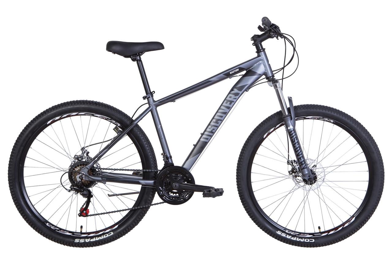 """Велосипед 27.5"""" Discovery BASTION 2021 (сине-черный)"""