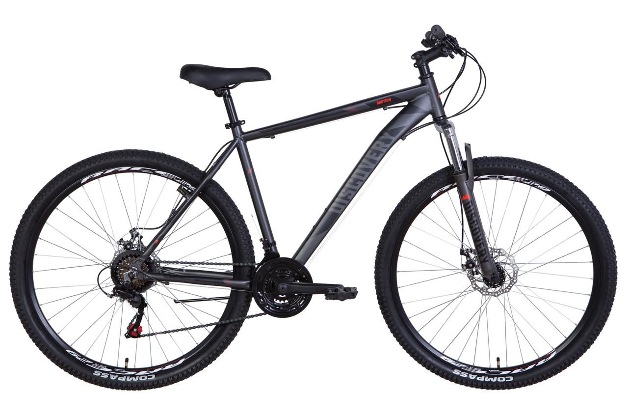 """Велосипед 29"""" Discovery BASTION 2021 (графитовый (м))"""