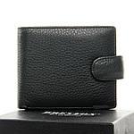 Кошелек мужской кожаный BRETTON черный (05-113), фото 2
