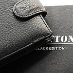 Кошелек мужской кожаный BRETTON черный (05-113), фото 3