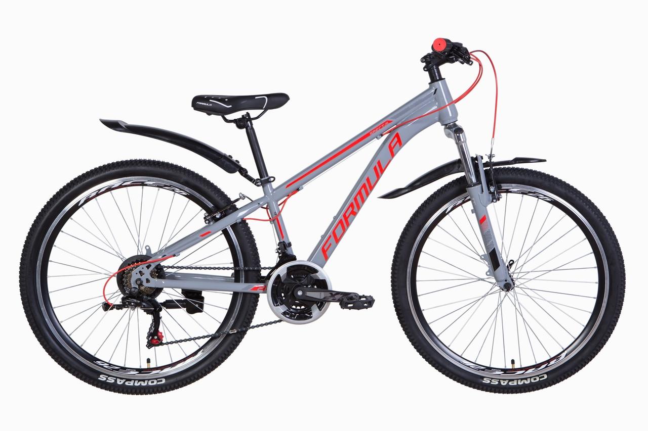 """Велосипед 26"""" Formula SPECIAL 2021 (сірий з червоним)"""