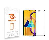 Защитное стекло Powermax 3D Premium Samsung M307 Galaxy M30s, M215 Galaxy M21 Black (PWRMX3DSGM30SB)