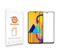 Захисне скло Powermax 3D Premium Samsung M307 Galaxy M30s, M215 Galaxy M21 Black (PWRMX3DSGM30SB)