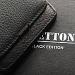 Кошелек мужской кожаный BRETTON черный (05-114), фото 4