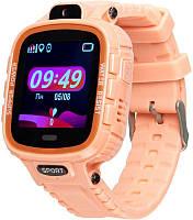 Дитячі розумні годинник (з GPS) Gelius Pro GP-PK001 (PRO KID) Pink