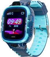 Дитячі розумні годинник (з GPS) Gelius Pro GP-PK001 (PRO KID) Blue