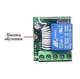 433МГц одноканальный беспроводной выключатель на 12В с таймером + Пульт, фото 4