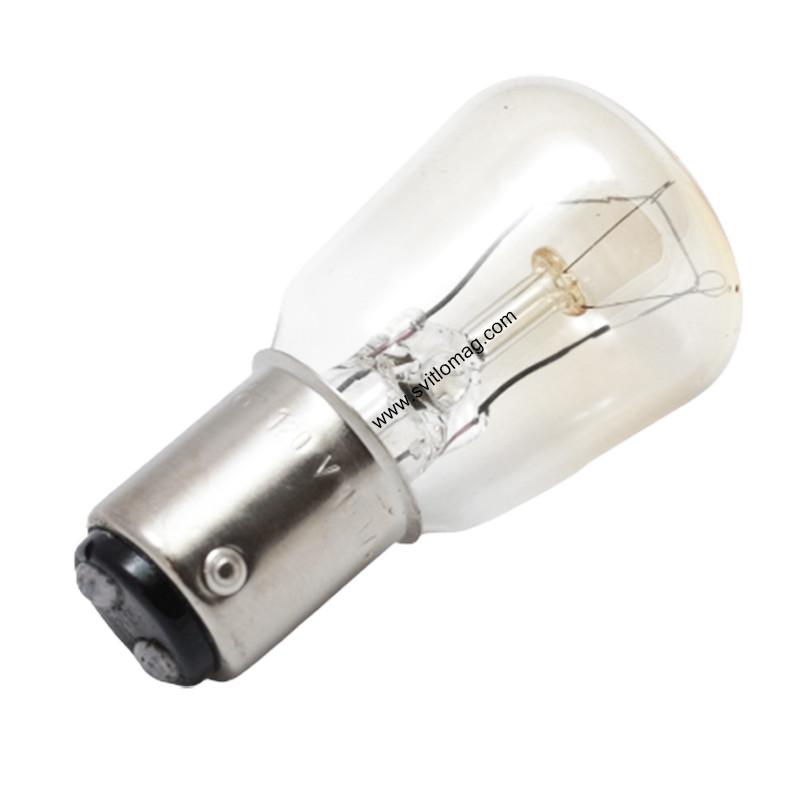 Лампа різного призначення РН 120-15 B15d