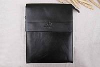 Кожаная сумка классическая мужская, фото 1