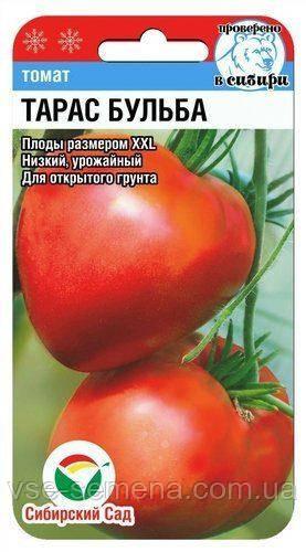 Томат Тарас Бульба 20 шт (Сибирский Сад)