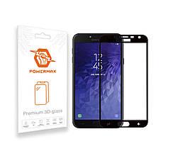 Захисне скло Powermax 3D Premium Samsung J600 Galaxy J6 2018 Black (PWRMX3DSGJ6B)