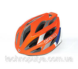 Велошлем Briko Fuoco M Orange-Wh