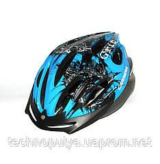Велошолом Carrera SF6 Grid s.54-57 Синій