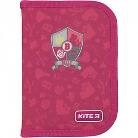 Пенал школьный без наполнения Kite Princess Розовый (P19-621)