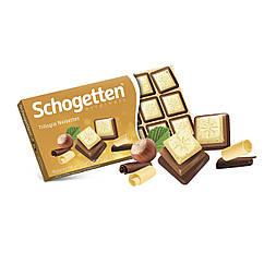 Молочний шоколад Schogetten Trilogia, 100г