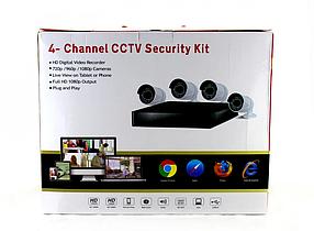 Камеры+Рег DVR CAD D001/L-580/3263 KIT 2mp/4CH набор на 4 камеаы