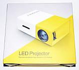 Проектор портативний Led Projector YG300 (мультимедійний міні лед проектор для будинку і офісу), фото 6