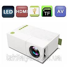 Проектор портативний Led Projector YG310 (мультимедійний міні проектор для будинку і офісу)