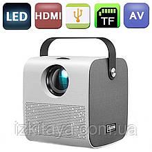 Проектор портативний Led Projector AUN AKEY7 HD, Bluetooth (мультимедійний міні проектор для будинку і офісу)