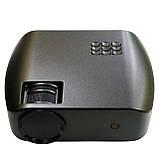 Проектор мультимедийный F10 WIFI (портативный лед проектор для дома и офиса с вай фай), фото 2