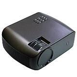 Проектор мультимедийный F10 WIFI (портативный лед проектор для дома и офиса с вай фай), фото 3