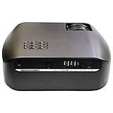 Проектор мультимедийный F10 WIFI (портативный лед проектор для дома и офиса с вай фай), фото 5