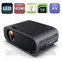 Проектор портативний  Everycom M7 HD (мультимедійний лед міні проектор для будинку і офісу)