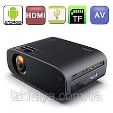 Проектор мультимедійний Everycom M7 HD, Android (портативний лед проектор для будинку і офісу на андройді)