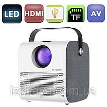 Проектор портативний BlitzWolf BW-VP5 HD (мультимедійний лед міні проектор для будинку і офісу)
