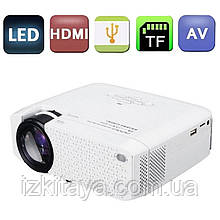 Проектор портативний Led Projector AUN D40 SD (мультимедійний лед міні проектор для будинку і офісу)