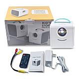 Проектор портативний дитячий Kids Story Projector Q2 (міні мультимедійний проектор для мультфільмів та, фото 6