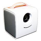 Проектор портативний дитячий Kids Story Projector Q2 (міні мультимедійний проектор для мультфільмів та, фото 8