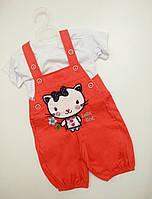 Детский боди-платье для девочки размер 74 на 9 -12 месяцев