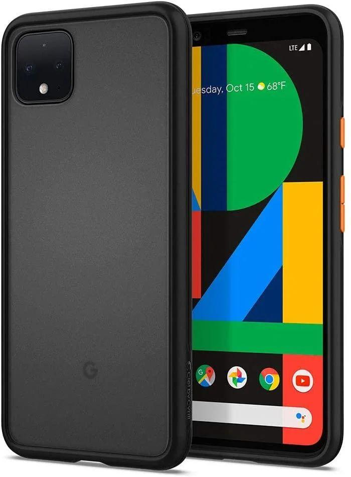 Чохол Spigen Color Brick Google Pixel 4 XL Black (F25CS27565)