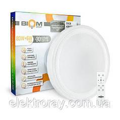 Светодиодный светильник Smart 80w + 6w RGB 6400lm Biom