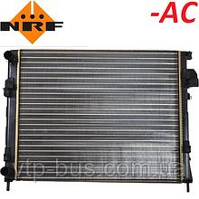 Радиатор охлаждения двигателя на Renault Trafic / Opel Vivaro 1.9dCi -AC (2001-2006) NRF (Нидерланды) 58333