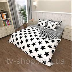 Комплект постельного белья Звезды  1,5