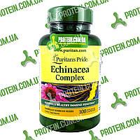 Эхинацея Иммунитет Puritans Pride Echinacea Complex 450 мг 100 капс, фото 1